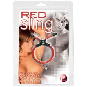 Red Sling Penisring
