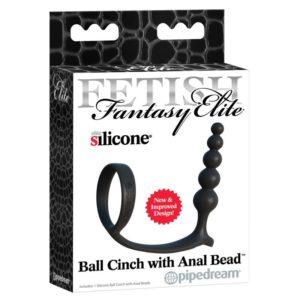 Ball Cinch with Anal Bead