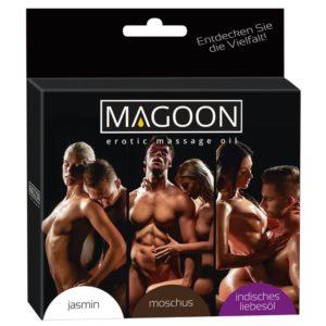 Magoon 3er Set Massage-Öle 50 ml